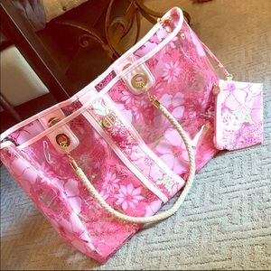 Brand new Lilly Pulitzer wild cats tote bag